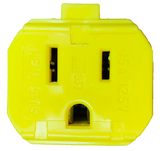 Quick 220 Adapter (NEMA 6-15P to NEMA 5-15R)