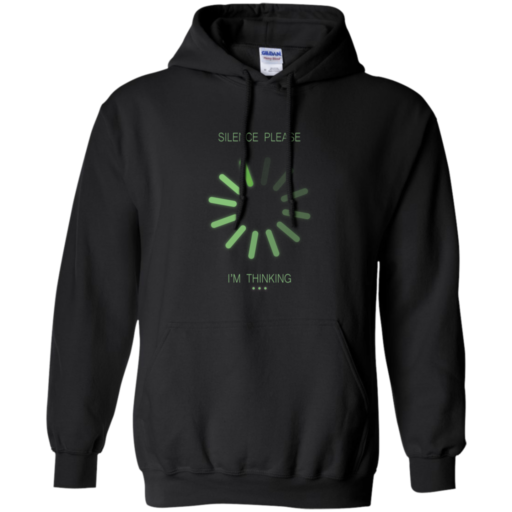 SILENCE PLEASE. I Am Thinking. Math and Science Hoodie