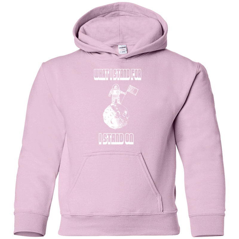 What I Stand For, I Stand On. Youth Environmental Awareness Hoodie