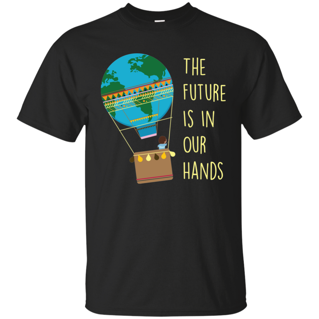 The Future Is In Our Hands. Environmental Awareness Youth T-Shirt