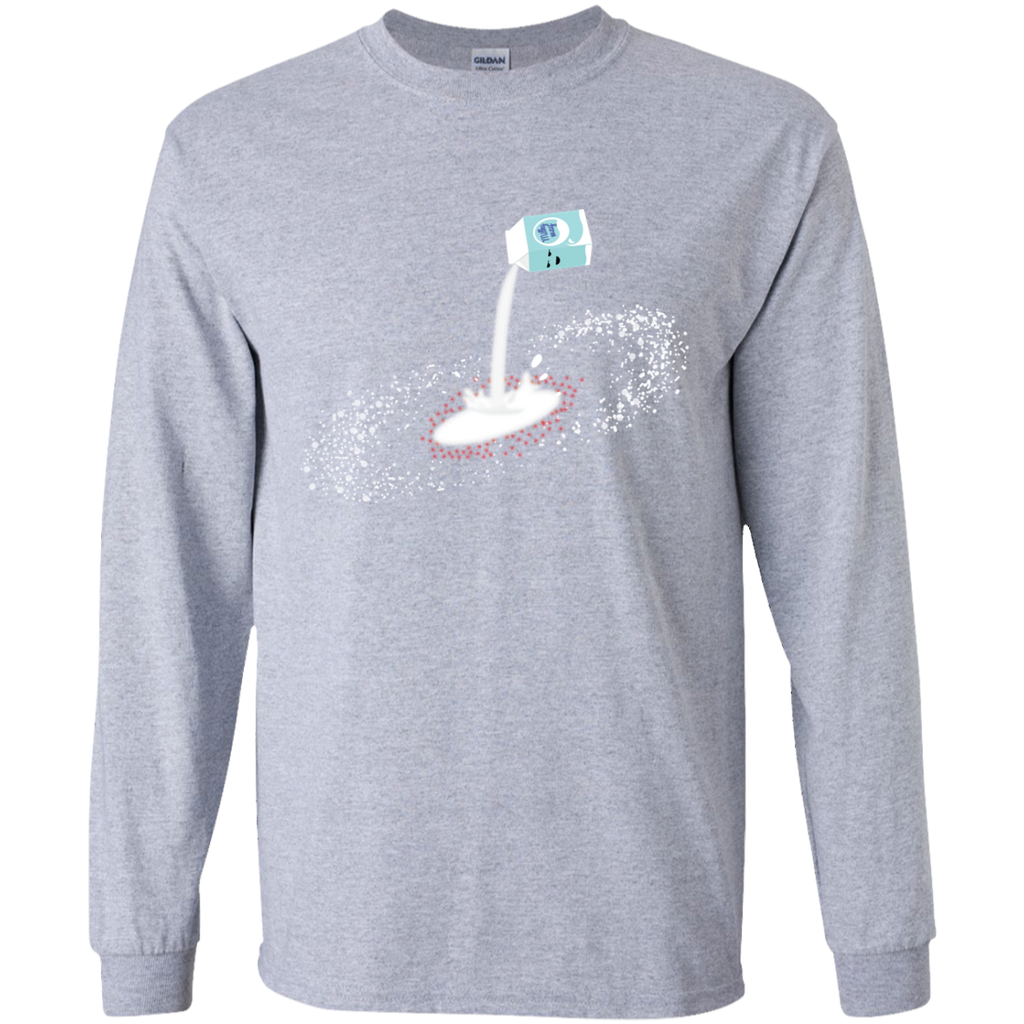 Milky Way. Solar System Science Long Sleeve T-Shirt