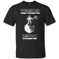 What I Stand For, I Stand On. Youth Environmental Awareness T-Shirt