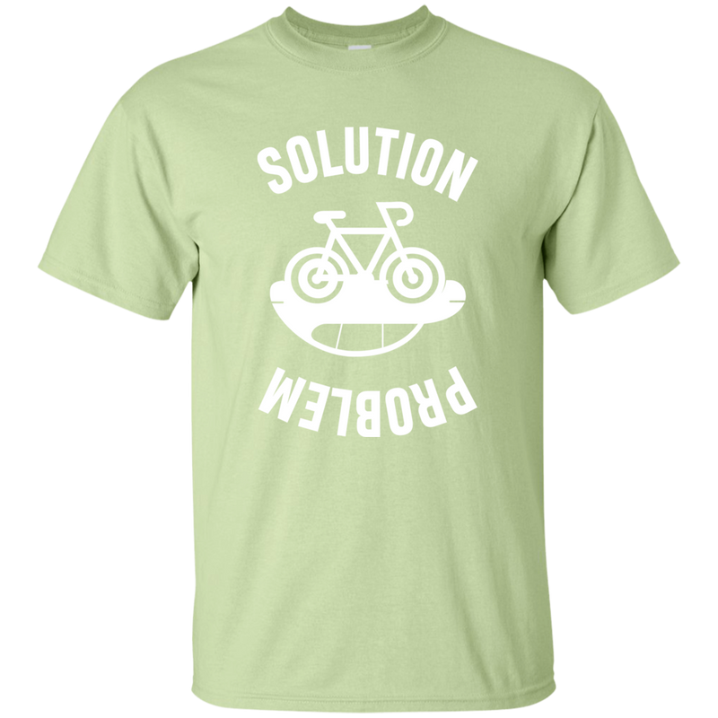 Solution and Problem. Environmental Awareness T-Shirt