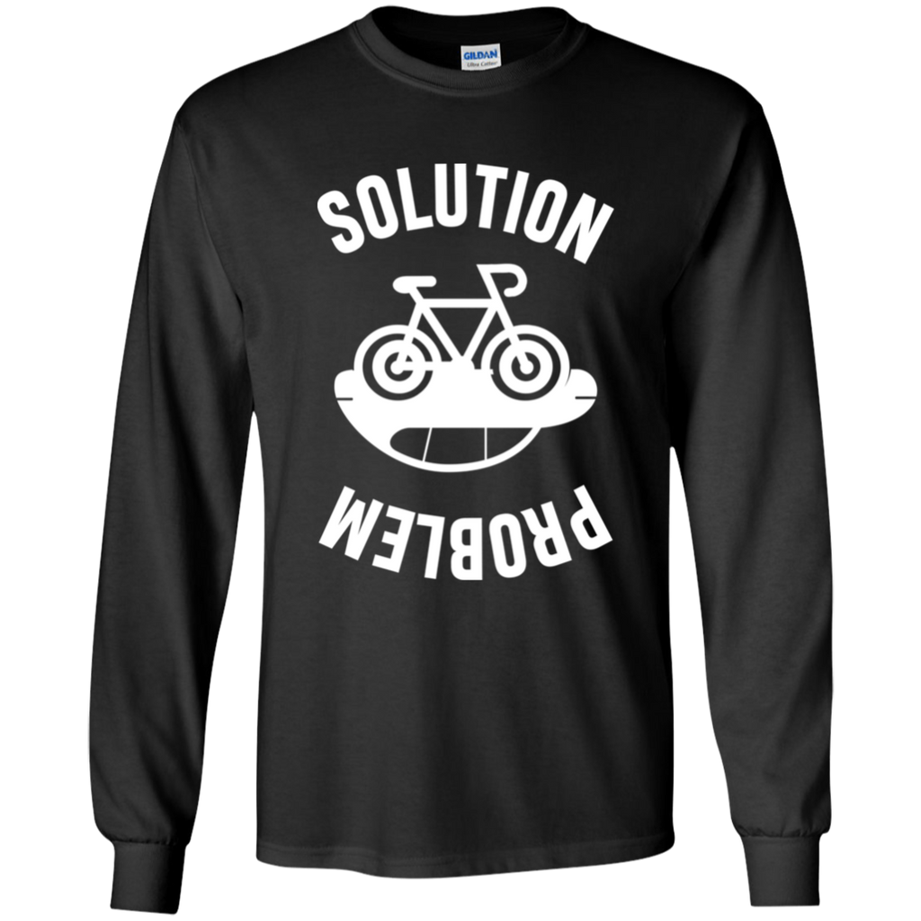 Problem and Solution. Environmental Awareness Long Sleeve T-Shirt