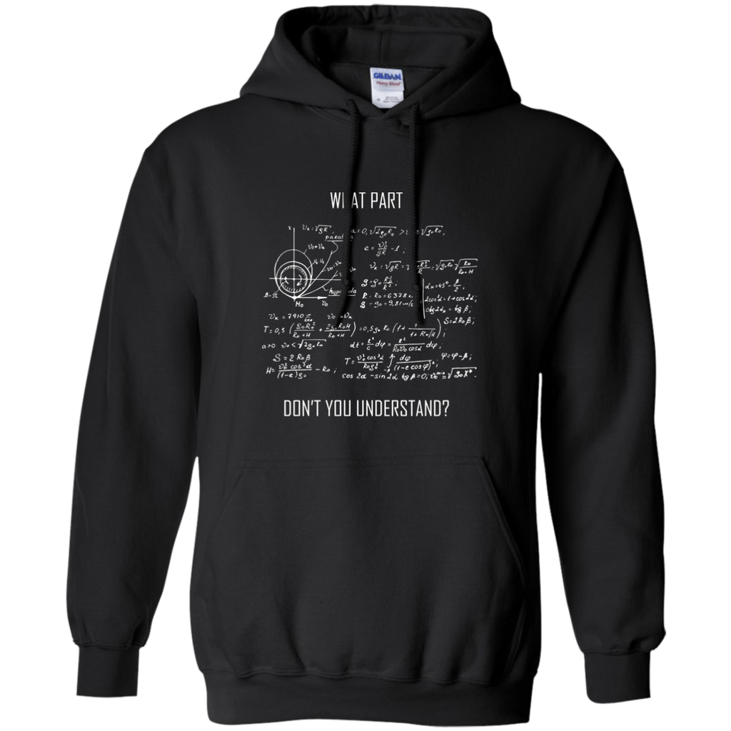What Part Don't You Understand? Science and Math Hoodie