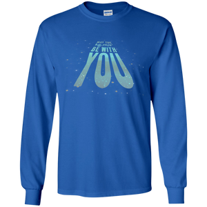 May The kg.m/s squared Be With You. Math and Science Long Sleeve T-Shirt