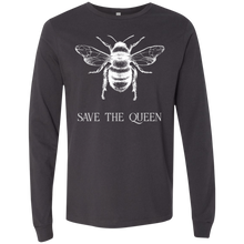 Load image into Gallery viewer, Save The Queen Long Sleeve Environmental Awareness T-Shirt