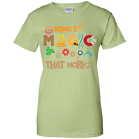 Science Is Magic-That Works. Woman's Science Tee