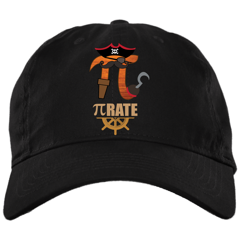 Pi Rate. Math Hat