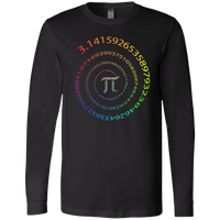Pi - Infinity Spiral. Math Long Sleeve T-Shirt
