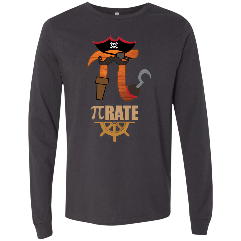 Pi RATE.  Long Sleeve Math T-Shirt