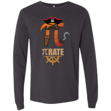 Load image into Gallery viewer, Pi RATE.  Long Sleeve Math T-Shirt