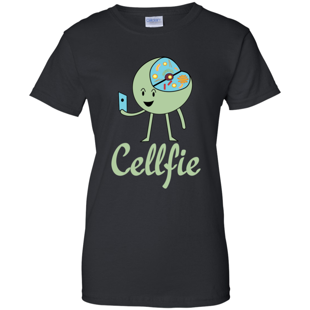Cell Selfie - Cellfie. Woman's Science T-Shirt