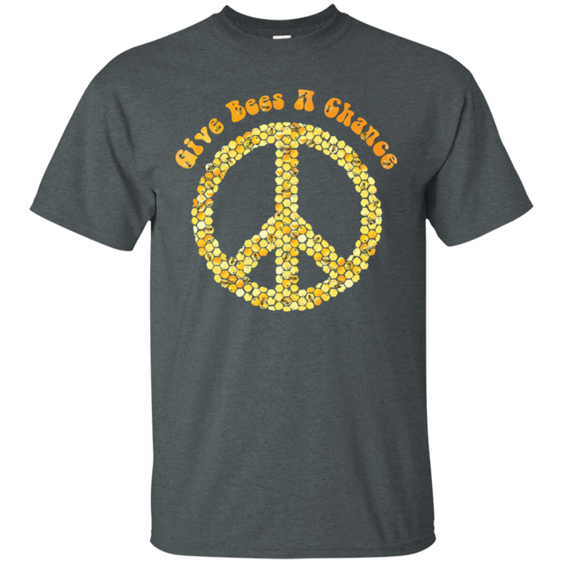 Give Bees A Chance. Environmental Awareness T-Shirt