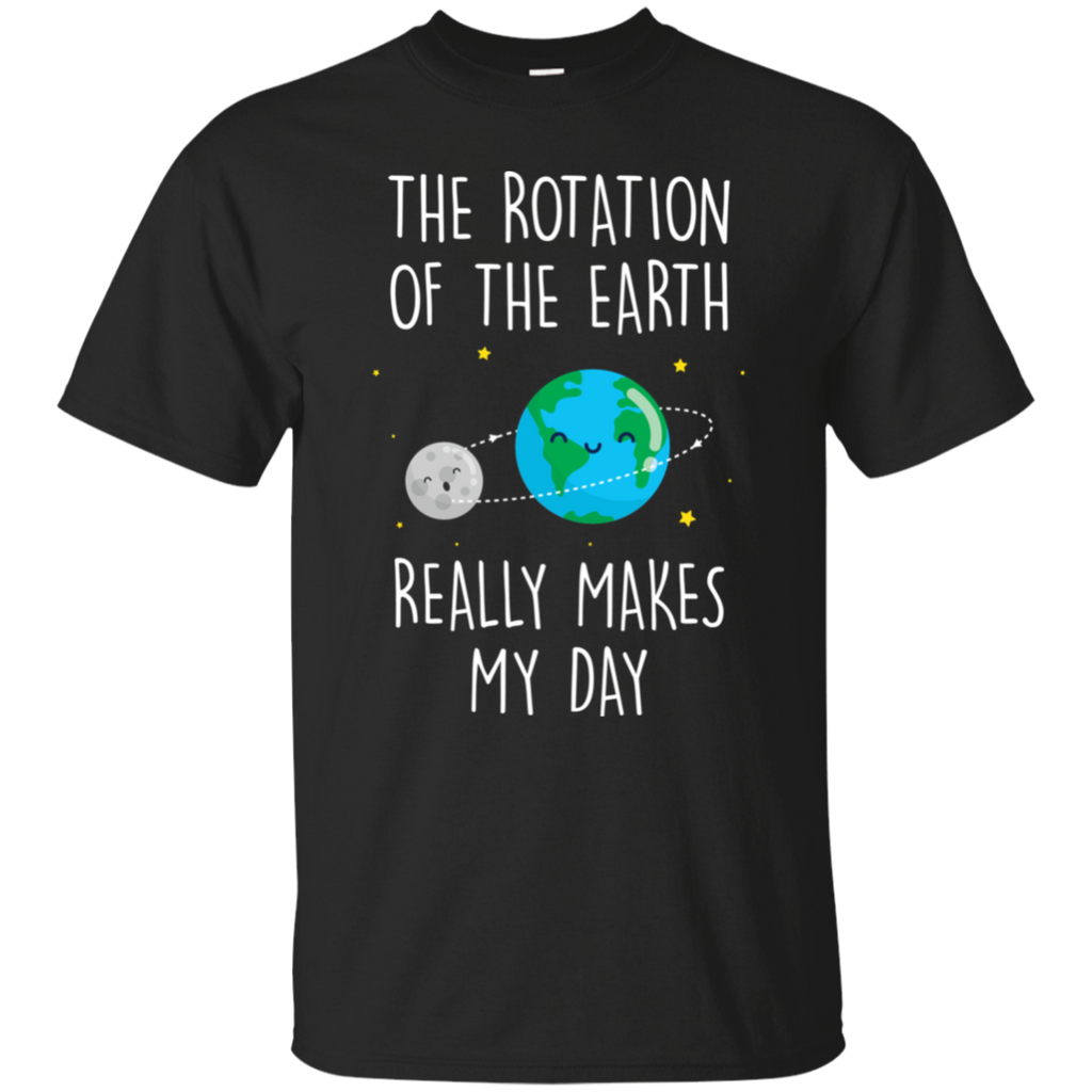 The Rotation Of The Earth, Really Makes My Day. Youth Science T-Shirt