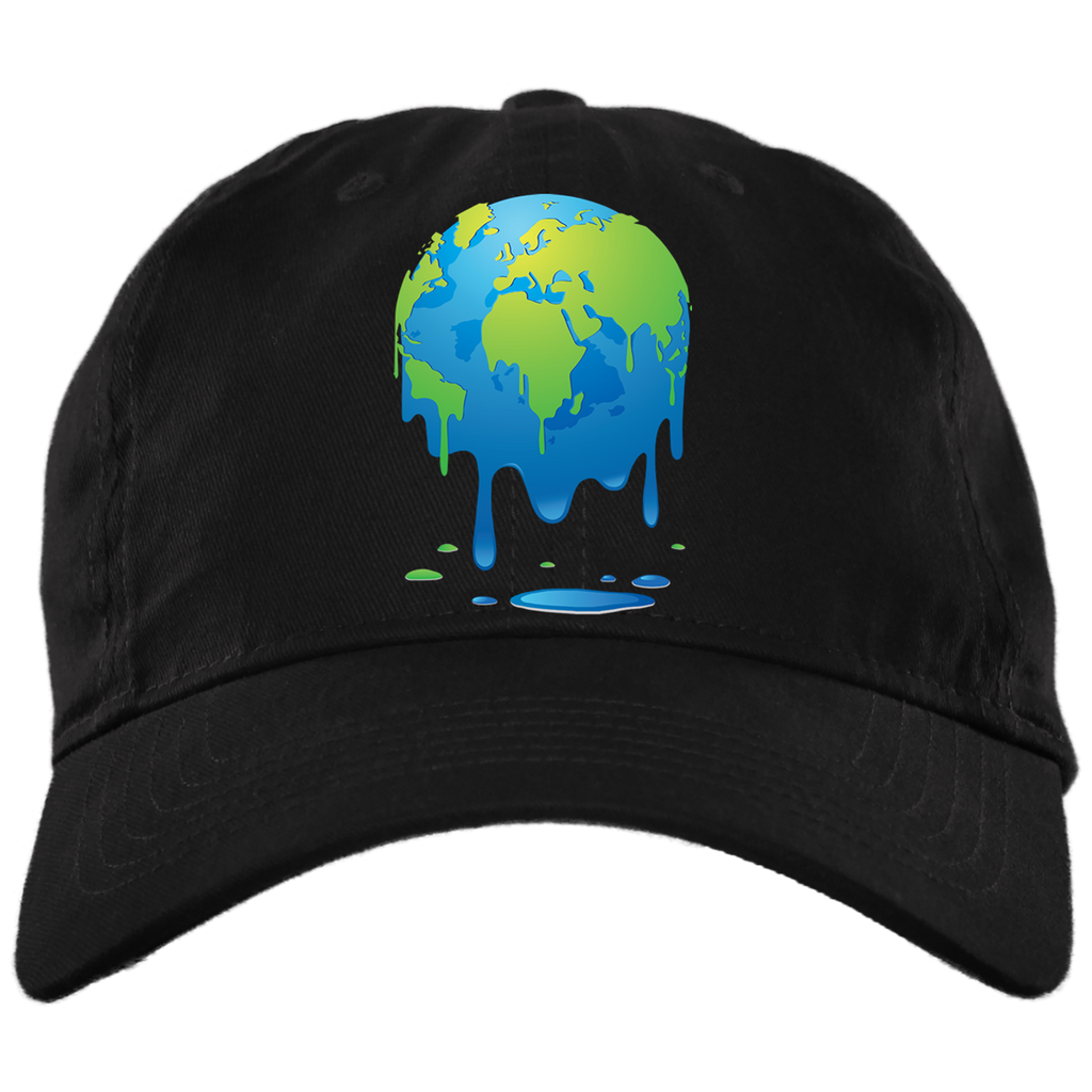 Melting Earth. Environmental Awareness Hat