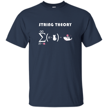 Load image into Gallery viewer, String Theory. Science and Math T-Shirt