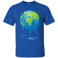 Global Warming-The Earth Is Melting. Environmental Awareness and Science Tshirt