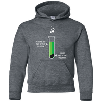 If You Are Not Part Of The Solution, You Are Part Of The Precipitate. Youth Science Hoodie