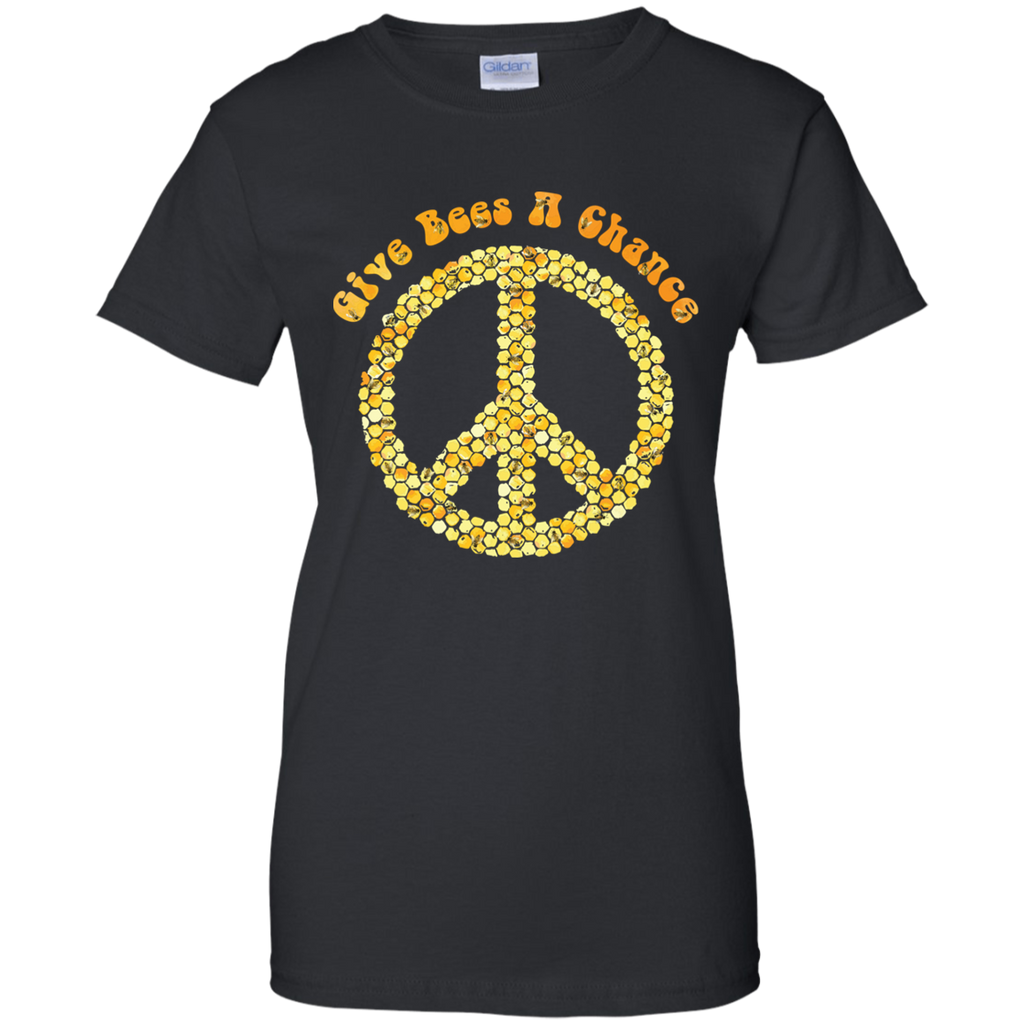 Give Bees A Chance. Environmental Awareness Woman's Tee