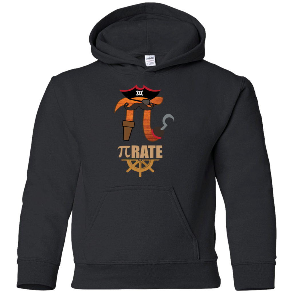 Pi-Rate. Graphic Math Youth Hoodie