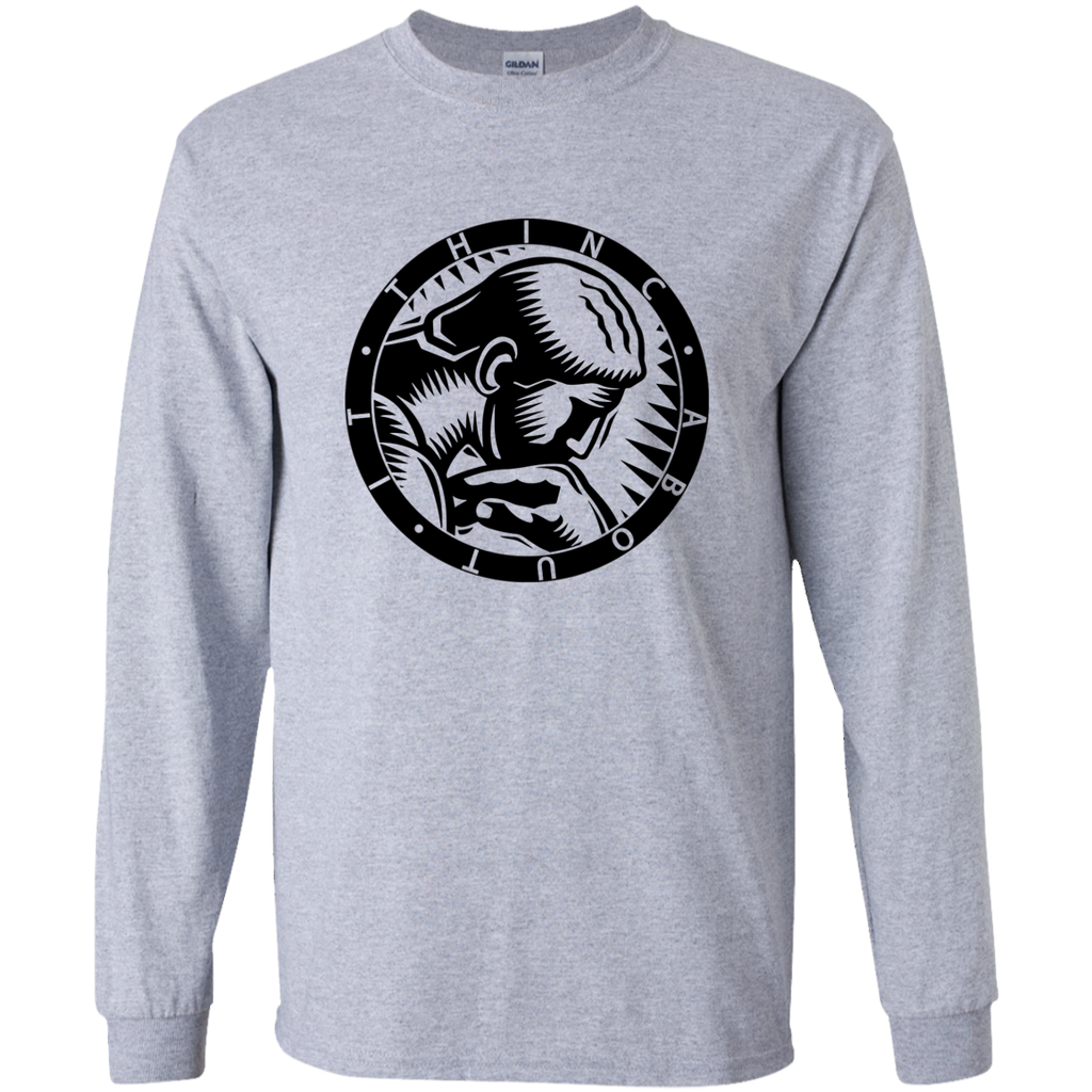 Thinc About It Branded Long-Sleeve T-Shirt