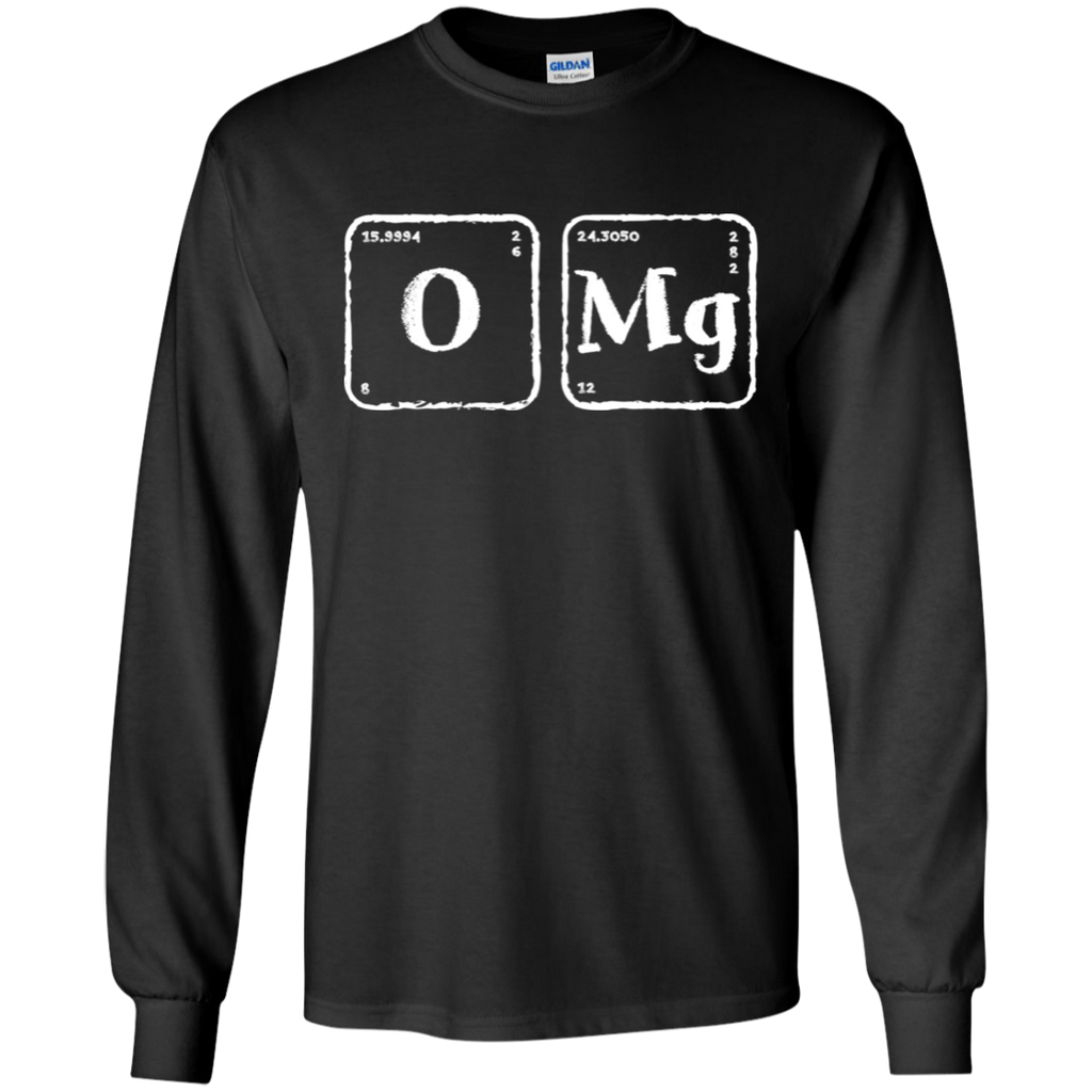 OMg! Periodic Table Long Sleeve Science T-Shirt.