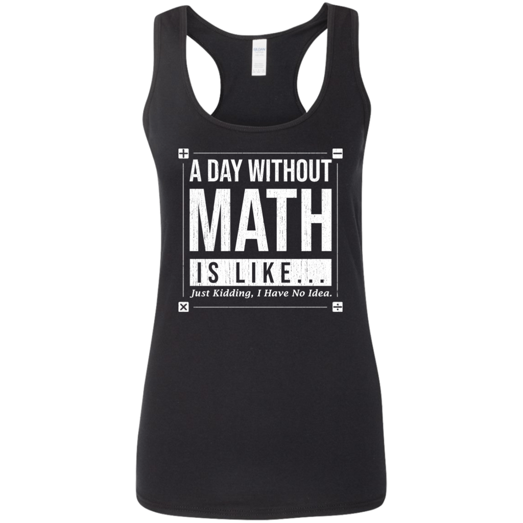 A Day Without Math, Is Like.... Woman's Science Tank Top