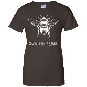 Save The Queen. Woman's Environmental Awareness Tee