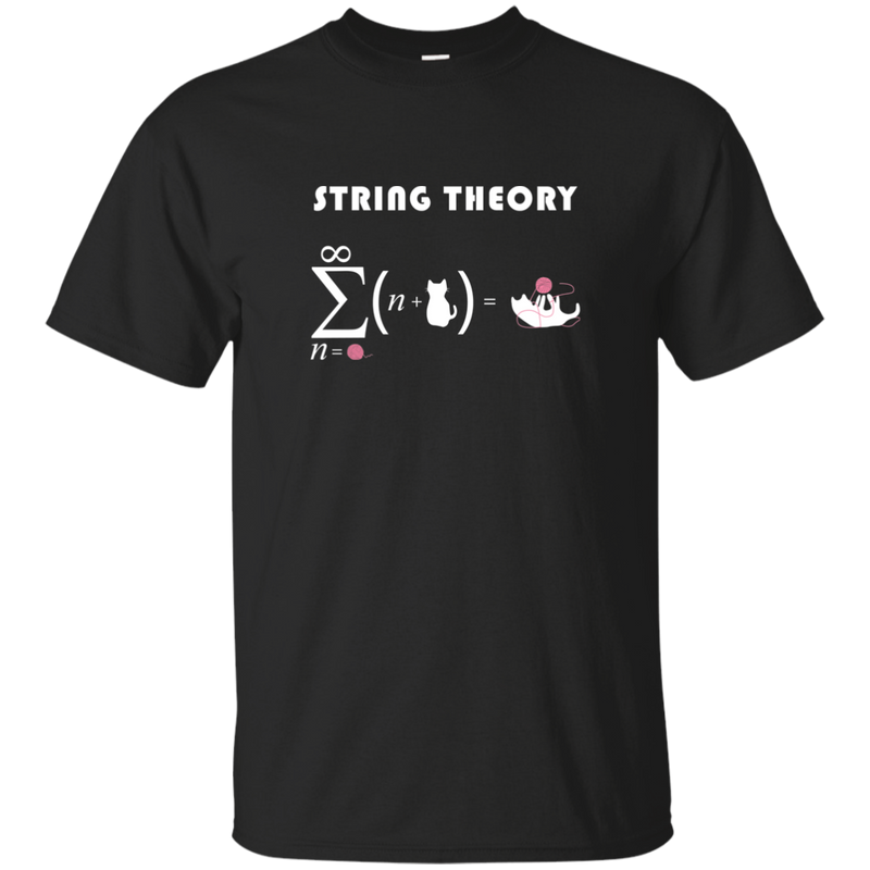 String Theory. Science and Math T-Shirt