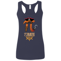 Pi-Rate Graphic Woman's Math Tank Top
