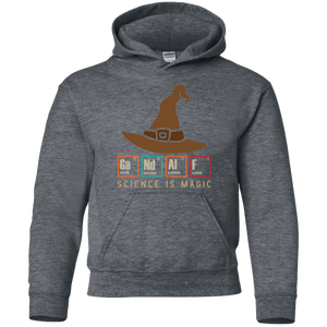 Science Is Magic. GaNdAlF. Periodic Table Youth Science Hoodie
