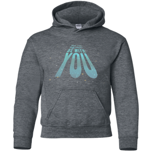 May The kg.m/s s squared Be With You!. Youth Science and Math Hoodie