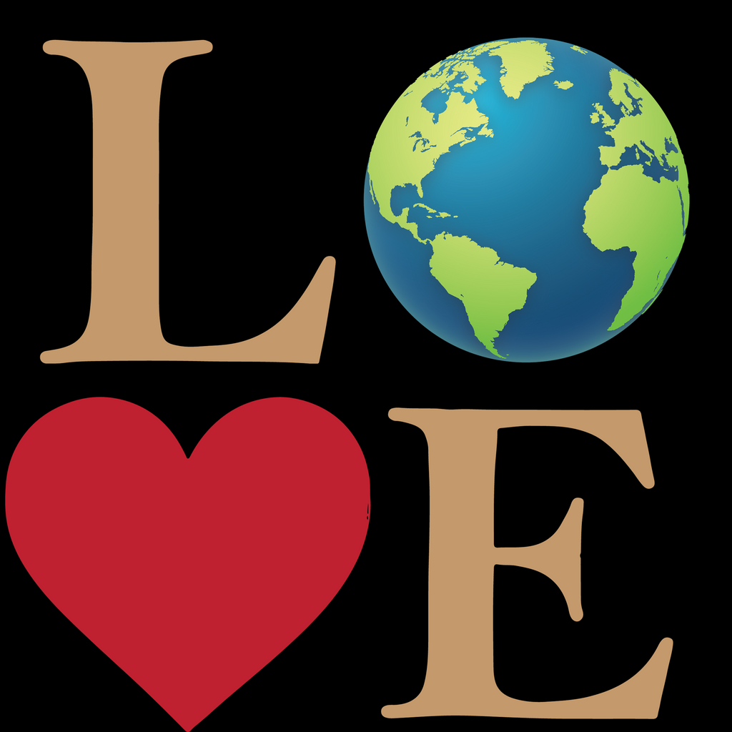 Love The Earth. Youth Environmental Awareness T-Shirt
