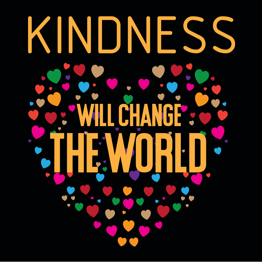 Kindness Will Change The World. Environmental Awareness Long Sleeve T-Shirt