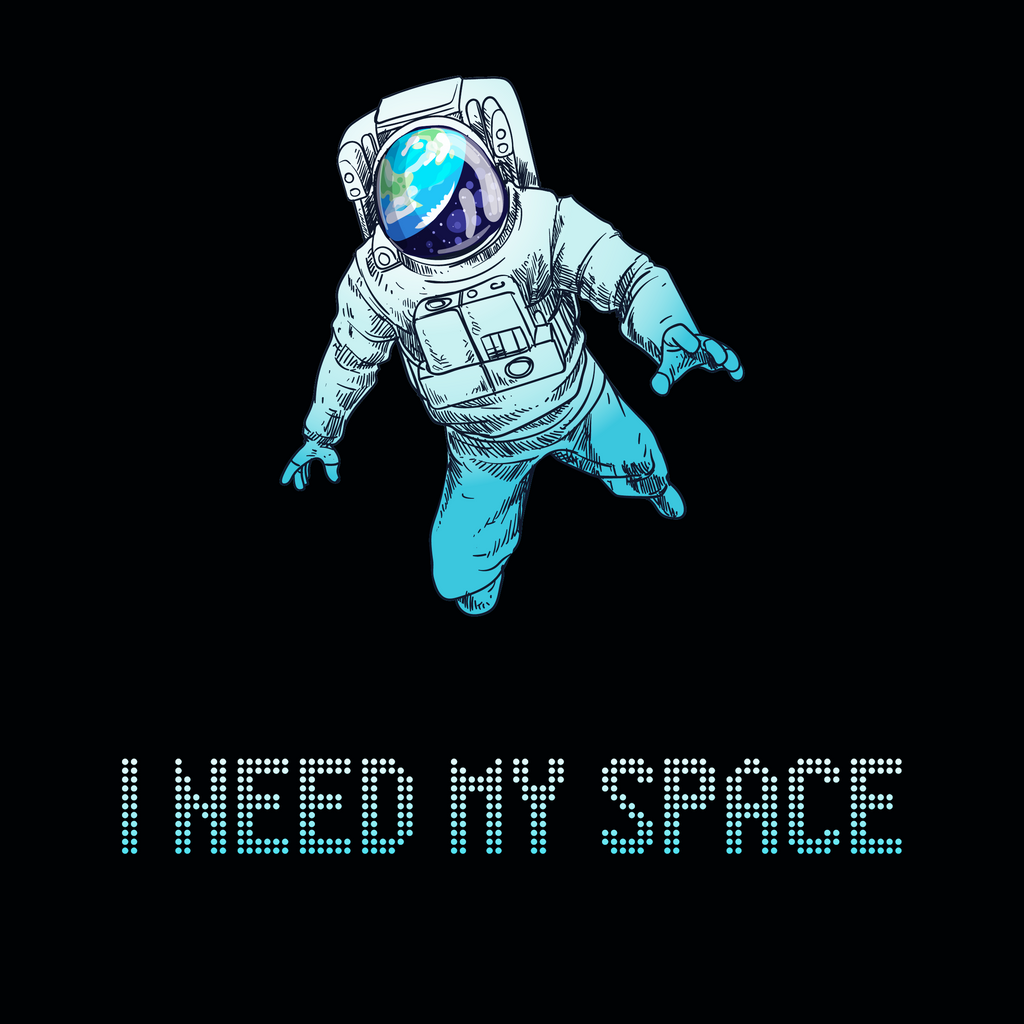 I Need My Space. Science Long Sleeve T-Shirt