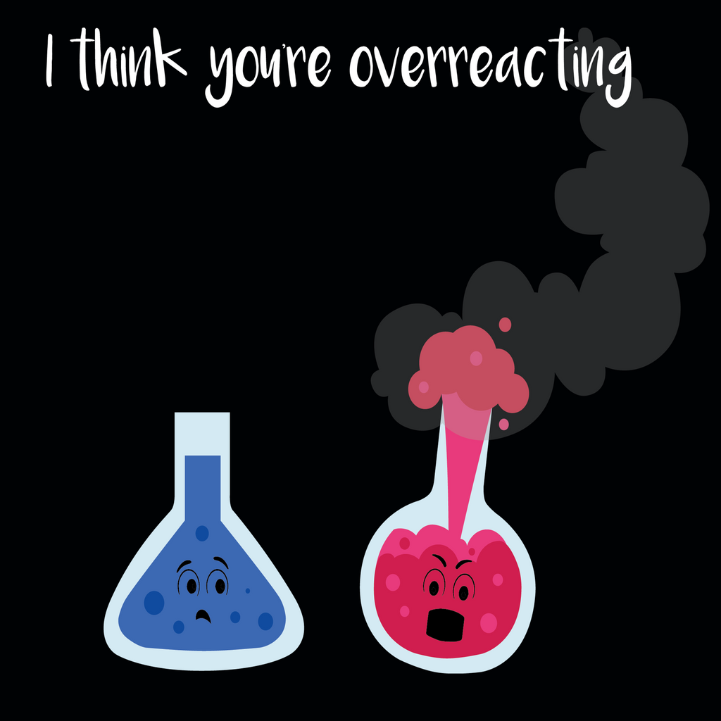 I Think You're Overreacting. Youth Science T-Shirt