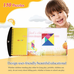 Magnetic Puzzle. Learn Shapes and Problem Solving. 72 Or 150 Puzzle Variations