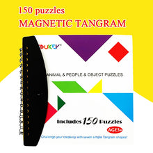 Load image into Gallery viewer, Magnetic Puzzle. Learn Shapes and Problem Solving. 72 Or 150 Puzzle Variations