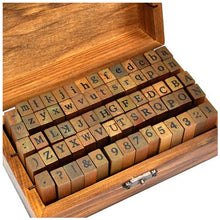 Load image into Gallery viewer, Vintage ( Which Means, Good Old-Fashioned) Rubber Stamps - 70 Pcs