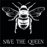 Save The Queen Long Sleeve Environmental Awareness T-Shirt