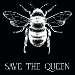 Save The Queen. Environmental Awareness T-Shirt