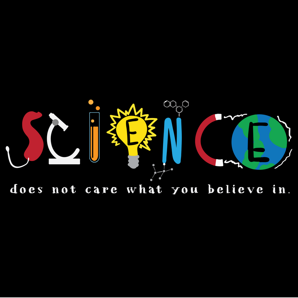 Science Doesn't Care What You Believe In. Youth Science Tee