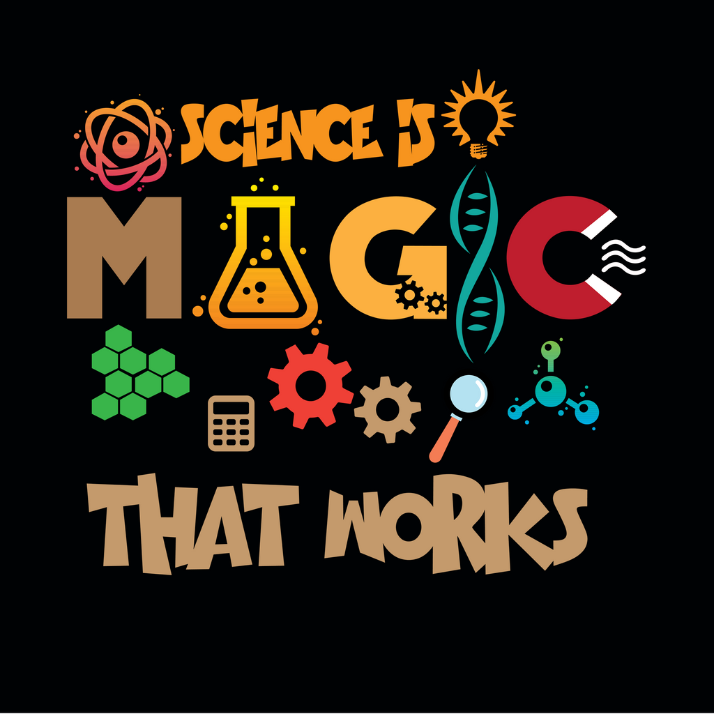 Science Is Magic That Works. Youth Science Shirt