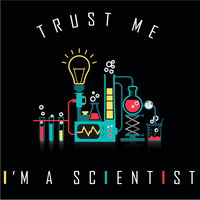 Trust Me I Am A Scientist.  Long Sleeve Science T-Shirt