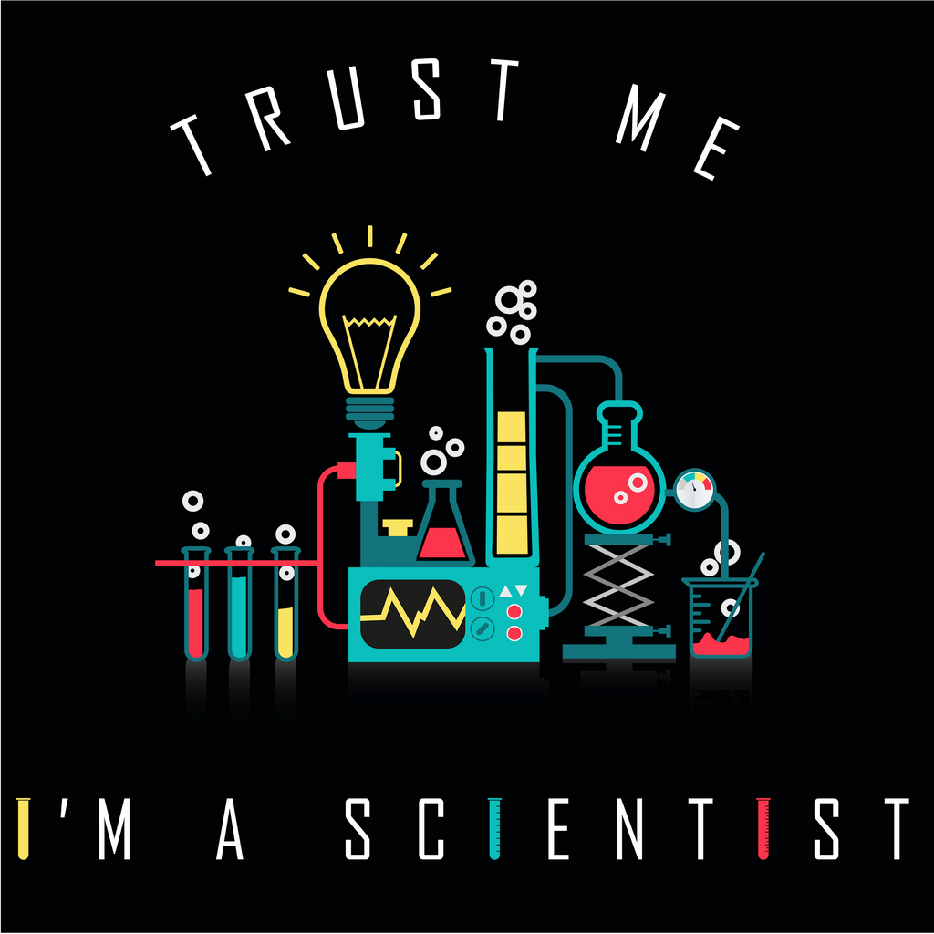 Trust Me I'm A Scientist. Woman's Science Tee