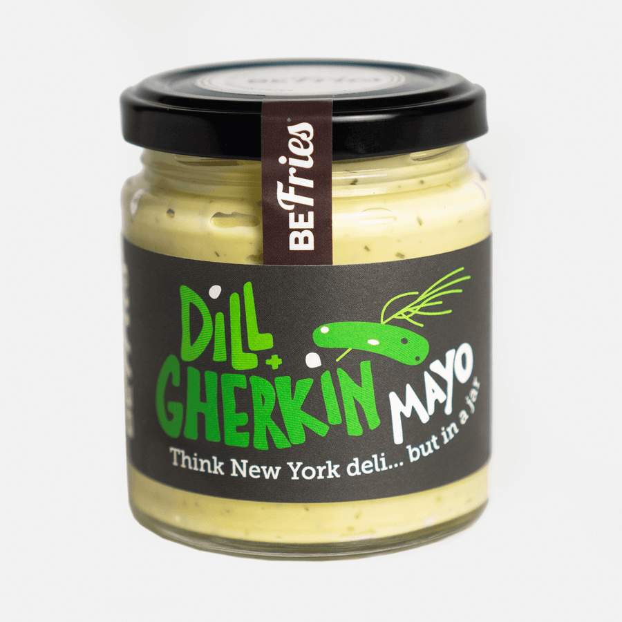 Home made Dill and Gherkin Mayonnaise