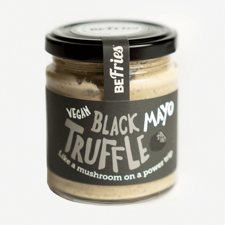 Home made Vegan, Egg-Free, Black Truffle Mayonnaise