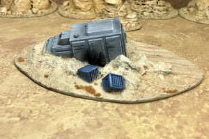 Downed Shuttle