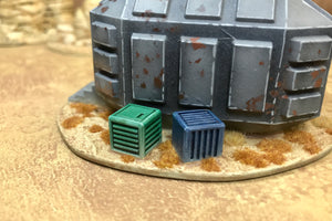 6 Universal Carrying Crates